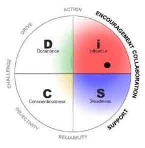 The Author's DiSC management profile